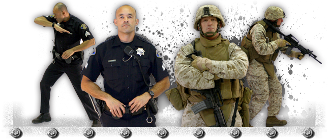 The Military and Law Enforcement: A Thank You
