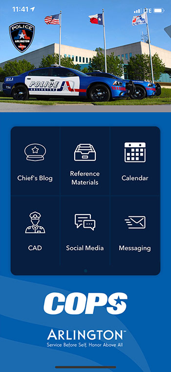Arlington Police App Streamlines Internal Communication